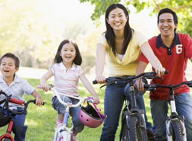 park-biking